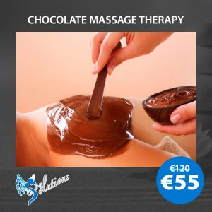 Chocolate massage therapy