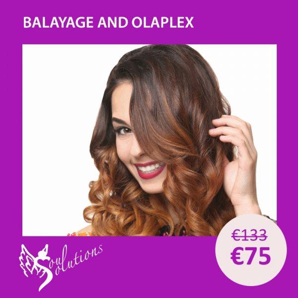 balayage & Olaplex