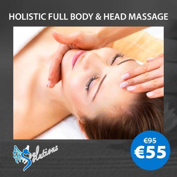 holistic massage and head