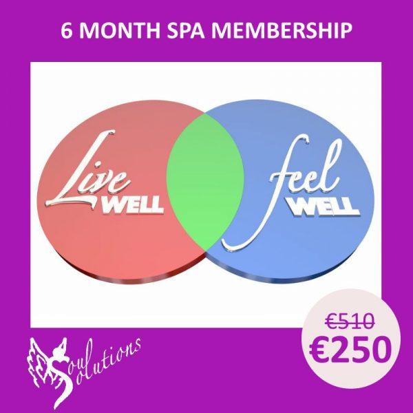 6 month spa membership